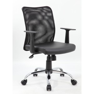 Budget Mesh Task Chair W/ T-Arms