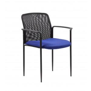Stackable Mesh Guest Chair - Blue