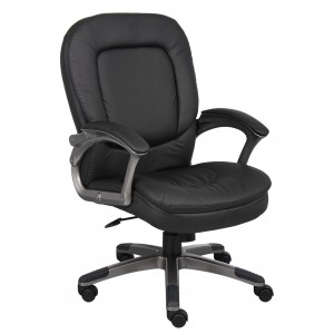 Executive Pillow Top Mid Back Chair