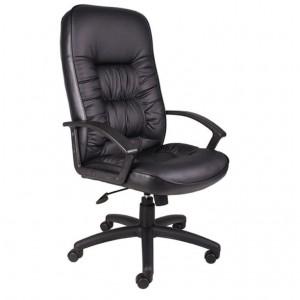 High Back LeatherPlus Chair W/ Knee Tilt