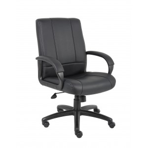 Caressoft Executive Mid Back Chair