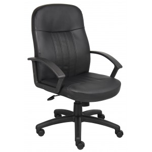 Executive Leather Budget Chair