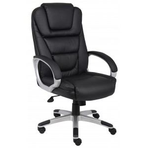 """NTR"" Executive LeatherPlus Chair W/ Knee Tilt"