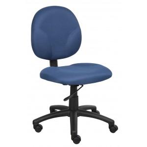 Diamond Task Chair In Blue