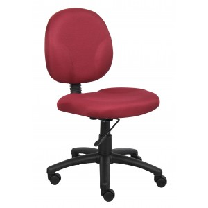 Diamond Task Chair In Burgundy