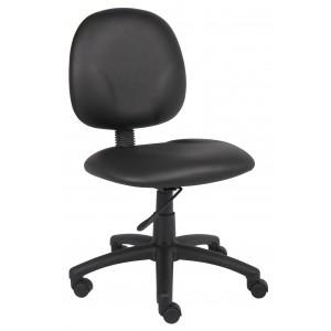 Diamond Task Chair In Black Caressoft