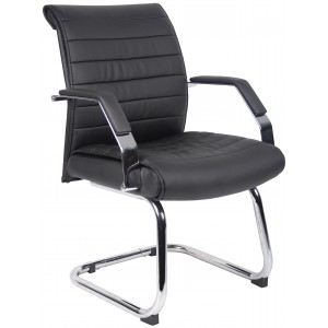 Ribbed Guest Chair