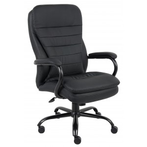 Heavy Duty Double Plush CaressoftPlus Chair - 400 Lbs.