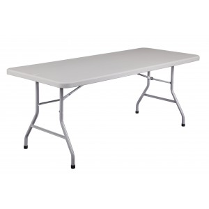Molded Folding Table 30X72