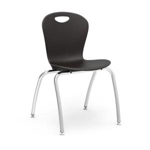 Zuma® Series - 4-Leg Stack Chairs With Civitas Frame