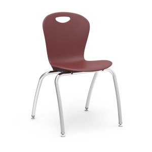 Zuma® Series - 4-Leg Stack Chairs With Civitas Frame