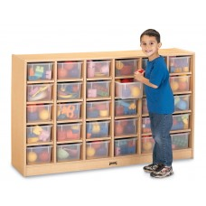 MapleWave® 30 Cubbie-Tray Mobile Storage - without Trays