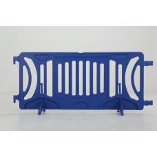 Plastic barricade - Royal Blue