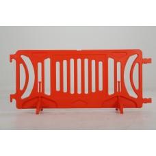 Plastic barricade - Orange