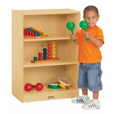 Jonti-Craft® Space-Saver Mobile Straight-Shelf