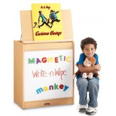 MapleWave® Big Book Easel - Magnetic Write-n-Wipe