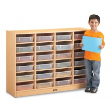 MapleWave® 24 Paper-Tray Mobile Storage - without Paper-Trays