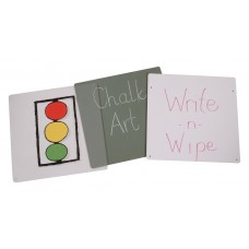 Jonti-Craft® Acrylic Easel Double Panel