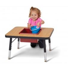 Jonti-Craft® Toddler Adjustable Sensory Table