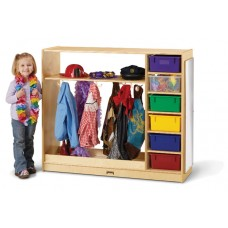 Jonti-Craft® Dress-Up Storage – with Colored Tubs