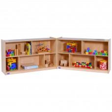 """30""""H Single Toy & Block Fold-N-Lock Mobile Storage"""