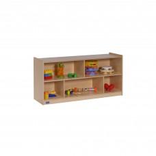 "24""H Single Toddler 2-Shelf Mobile Storage"