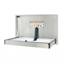 Recessed full stainless steel changing station - horizontal mount - Stainless Steel - N/A