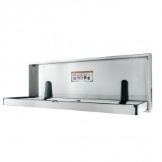 Surface mount extended, special needs full stainless steel changing station - Stainless Steel - N/A