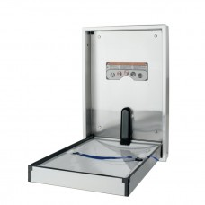 Recessed full stainless steel changing station - vertical mount - Stainless Steel - N/A