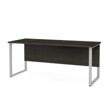 Pro-Concept Plus Table with Rectangular Metal Legs in Deep Grey