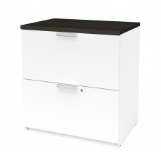Pro-Concept Plus Lateral File in White & Deep Grey