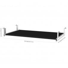 Pro-Concept Plus Keyboard Shelf in Black
