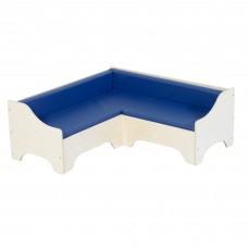 Corner Sofa - Blue