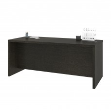 Pro-Linea Executive Desk in Deep Grey