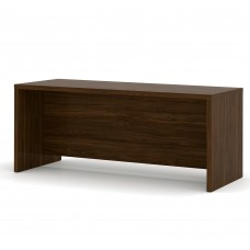 Pro-Linea Executive Desk in Oak Barrel