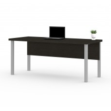 Pro-Linea Table with metal legs in Deep Grey