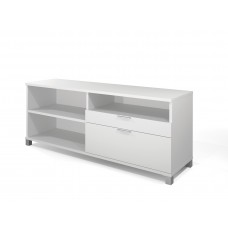 Pro-Linea Credenza with two drawers in White