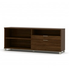 Pro-Linea Credenza with two drawers in Oak Barrel
