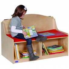Reading Bench with Storage