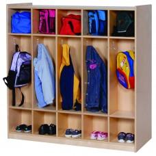 2-Sided 10-Section Locker
