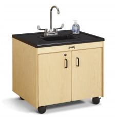 "Jonti-Craft® Clean Hands Helper - 26"" Counter - Plastic Sink"