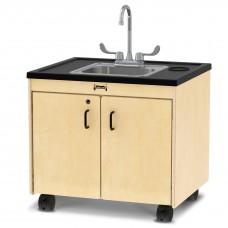 "Jonti-Craft® Clean Hands Helper - 26"" Counter - Stainless Steel Sink"
