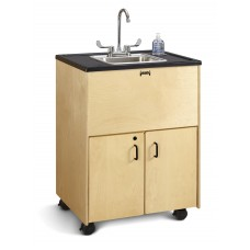 "Jonti-Craft® Clean Hands Helper - 38"" Counter - Stainless Steel Sink"