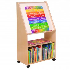 Write & Wipe Easel with Storage