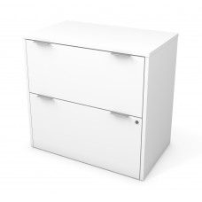 i3 Plus Lateral File in White
