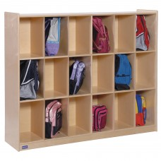 18 Section Cubby Storage