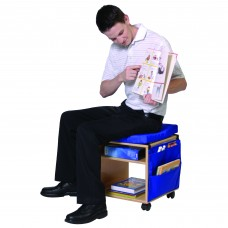 Mobile Classroom Stool with Storage