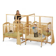 Jonti-Craft® See-Thru Quad Crib Divider