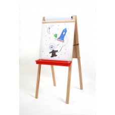 "44"" H x 19"" W Child's Deluxe Double Easel"