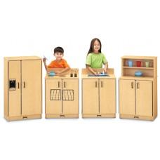 MapleWave® Play Kitchen 4 Piece Set